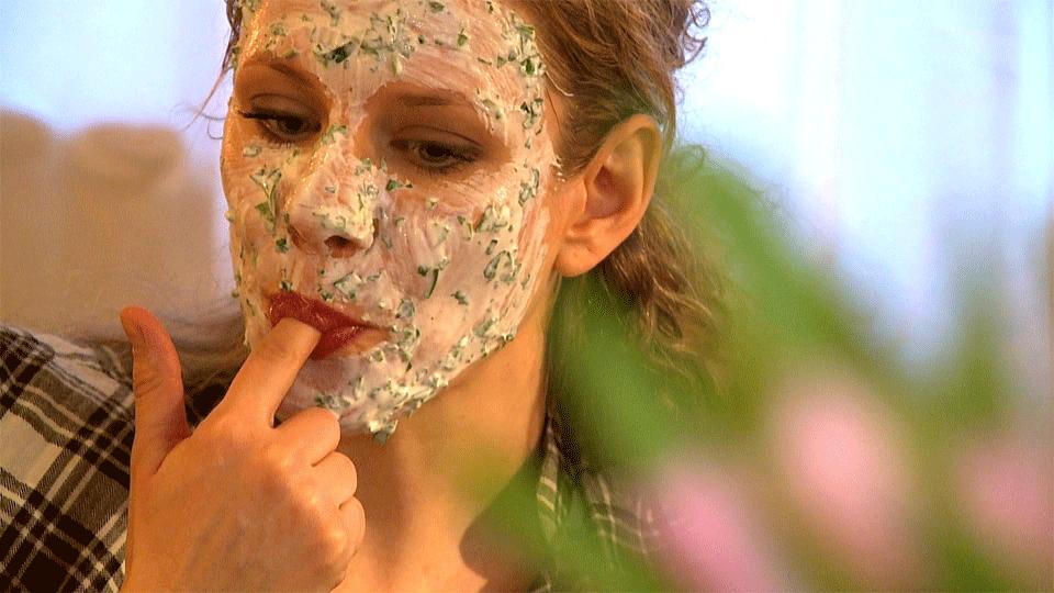 Lebensmittel-Masken sorgen für schöne Haut