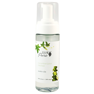 Organic Cucumber Juice Facial Cleansing Foam