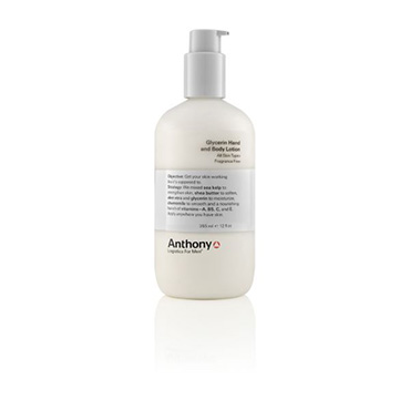 Glycerin Hand and Body Lotion 12 oz | Anthony | b-glowing