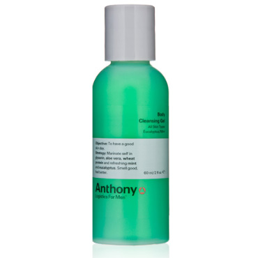 Eucalyptus Mint Body Cleansing Gel 2 oz