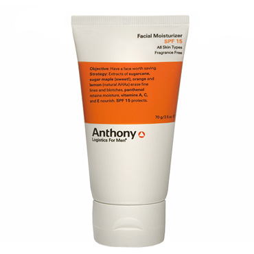 Facial Moisturizer SPF 15 | Anthony | b-glowing