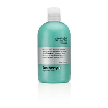 Invigorating Rush Hair and Body Wash | Anthony | b-glowing