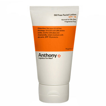Oil Free Facial Lotion SPF 15 | Anthony | b-glowing