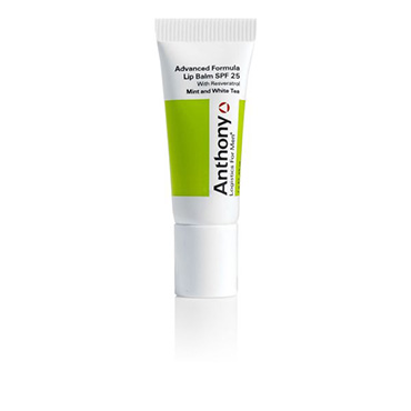 Mint and White Tea Advanced Formula Lip Balm SPF 25 | Anthony | b-glowing