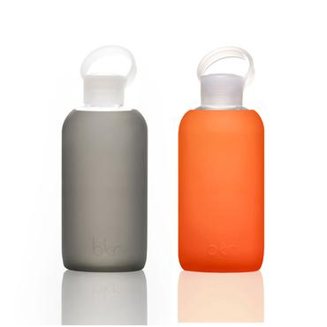 bkr bubbly glass bottle + soft silicone sleeve