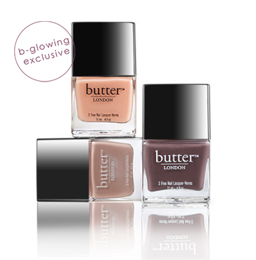 bNATURAL Nail Polish Trio