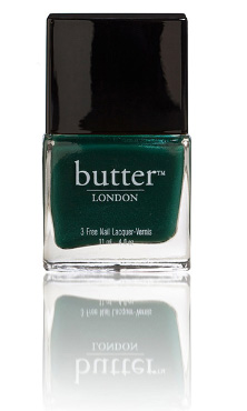 British Racing Green Nail Lacquer | butter LONDON | b-glowing