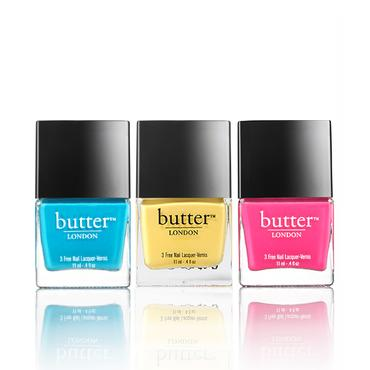 Limited Edition Pop Art Trio | butter LONDON | b-glowing