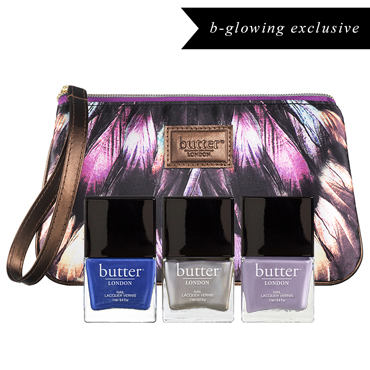 Limited Edition 3pc Bespoke Lacquer Collection - Maida Vale | butter LONDON | b-glowing