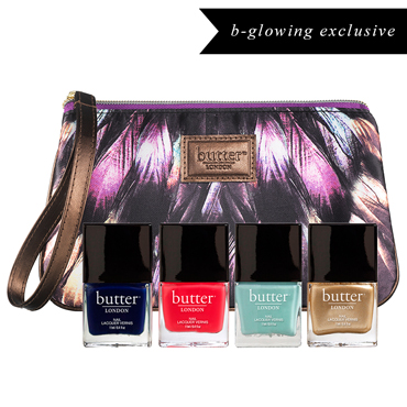 Limited Edition 4pc Bespoke Lacquer Collection - Leicester Square | butter LONDON | b-glowing
