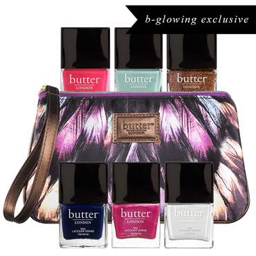 Limited Edition 6pc Bespoke Lacquer Collection - The Enchanted Palace | butter LONDON | b-glowing