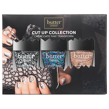 The Cut Up Collection Fashion Size Trio | butter LONDON | b-glowing