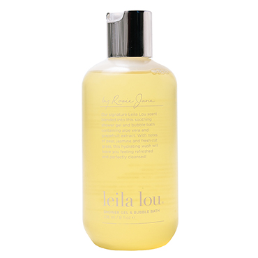 Leila Lou Soothing Shower Gel and Bubble Bath