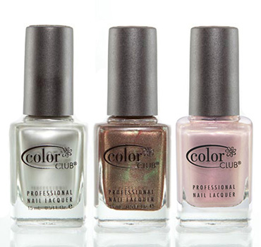 Metallic Nail Polishes | Color Club | b-glowing