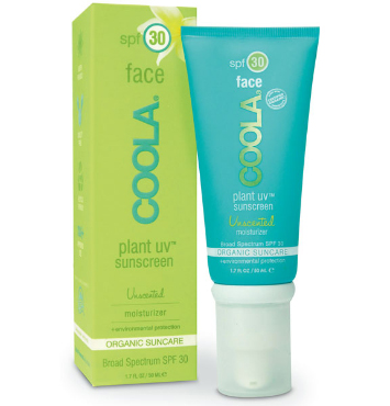 Plant UV Face SPF 30 Unscented | COOLA | b-glowing