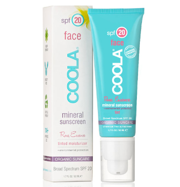 Mineral Face SPF 20 Tinted Rose | COOLA | b-glowing
