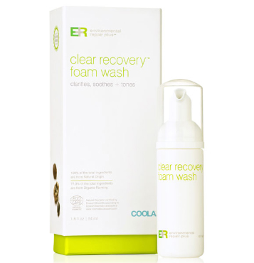 ER+ Clear Recovery Foam Wash
