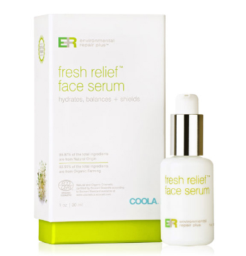 ER+ Fresh Relief Face Serum | COOLA | b-glowing