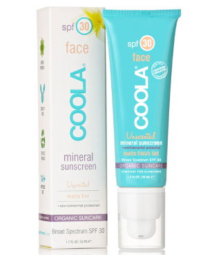 Mineral Face SPF 30 Matte Tint | COOLA | b-glowing