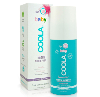 Mineral Baby SPF 50 Unscented Moisturizer | COOLA | b-glowing