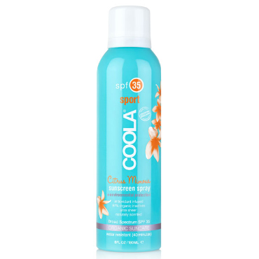 Sport Spray SPF 35 Citrus Mimosa | COOLA | b-glowing