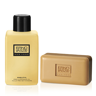 Phelityl Pre-Cleansing Oil and Phelityl Cleansing Bar Duo | ERNO LASZLO | b-glowing