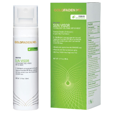 "Sun Visor ""Ultralight Oil Free SPF 30 Mist"""