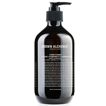 Conditioner: Damask Rose, Chamomile & Lavender Stem - 500ml | Grown Alchemist | b-glowing