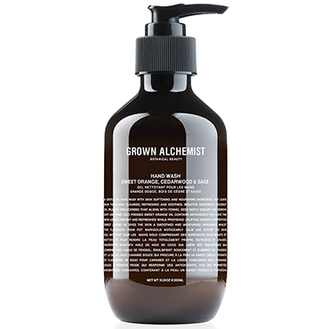 Hand Wash: Sweet Orange, Cedarwood and Sage - 300ml | Grown Alchemist | b-glowing
