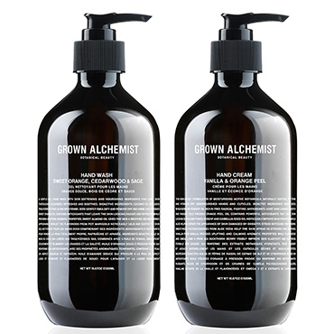 Hand Wash & Hand Cream Twin Set - 500ml | Grown Alchemist | b-glowing