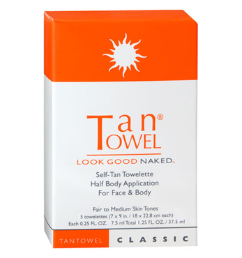 Half Body Classic 10 pack (Fair/Medium) | Tan Towel | b-glowing
