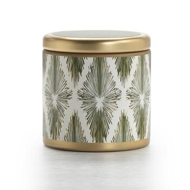 Balsam and Cedar Holiday Mini Pillow Tin Candle | Illume | b-glowing