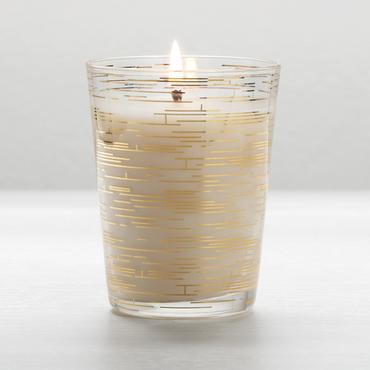 Gilded Amberleaf Demi Harlow Candle | Illume | b-glowing
