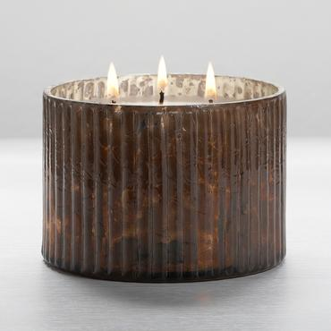 Woodfire 3-Wick Mercury Candle | Illume | b-glowing