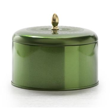 Balsam and Cedar Metallic Knob Tin | Illume | b-glowing