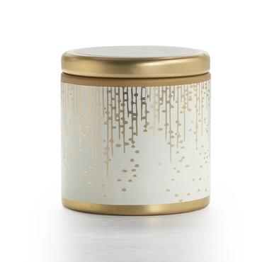 Gilded Amberleaf Holiday Mini Pillow Tin Candle | Illume | b-glowing