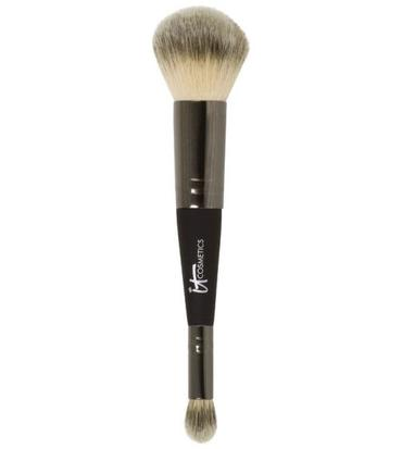 Dual Airbrush Foundation Concealer Brush | it Cosmetics | b-glowing