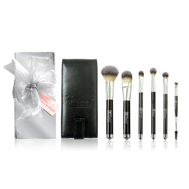 Heavenly Luxe(TM) 6-Pc Brush Set with Travel Case