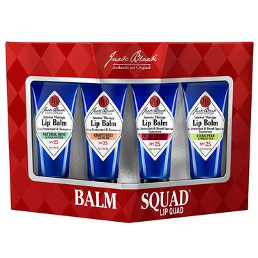 Balm Squad® Lip Quad | Jack Black | b-glowing