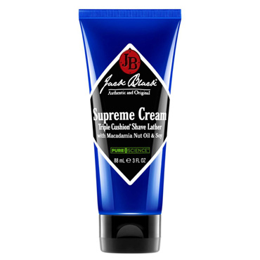 Supreme Cream Triple Cushion Shave Lather - 3 oz | Jack Black | b-glowing