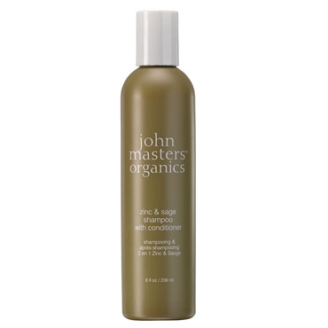 Zinc and Sage Shampoo with Conditioner | John Masters Organics | b-glowing
