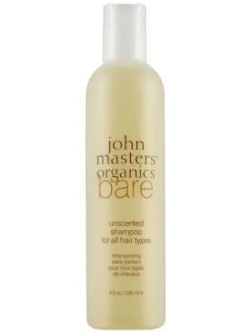 Bare - Unscented Shampoo for All Hair Types | John Masters Organics | b-glowing
