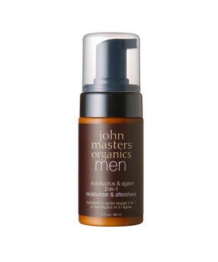Eucalyptus & Agave 2-in-1 Aftershave & Daily Moisturizer | John Masters Organics | b-glowing
