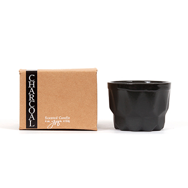 Charcoal Prism Candle | JOYA | b-glowing