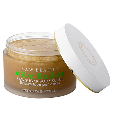 Raw Sugar Body Scrub | Kat Burki | b-glowing