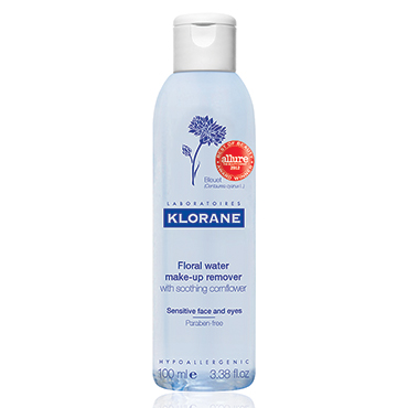 Floral Water Make-Up Remover with Soothing Cornflower - 100 ml | Klorane | b-glowing
