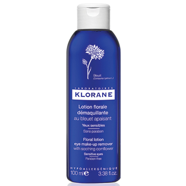 Floral Lotion Eye Make-Up Remover with Soothing Cornflower - 100 ml | Klorane | b-glowing