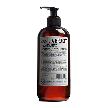 No.86 Shampoo Coriander/Black Pepper | L:A Bruket | b-glowing