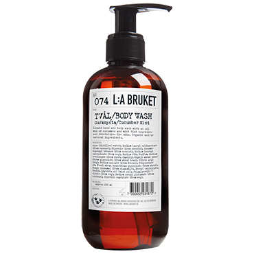 No.74 Body Wash Cucumber/Mint | L:A Bruket | b-glowing