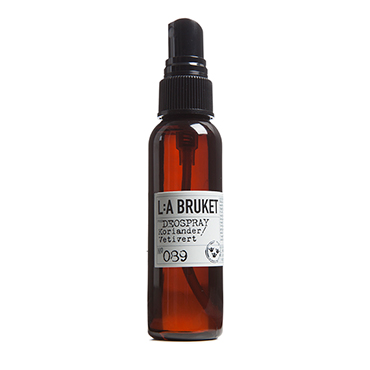 No.89 Deodorant Spray Coriander/Vetiver | L:A Bruket | b-glowing